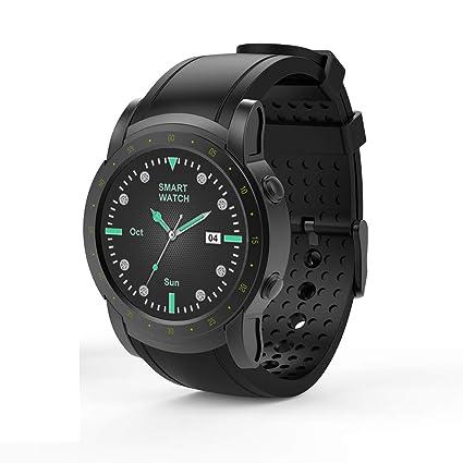 HUIGE SmartWatch Reloj de Pulsera Impermeable con Pantalla ...