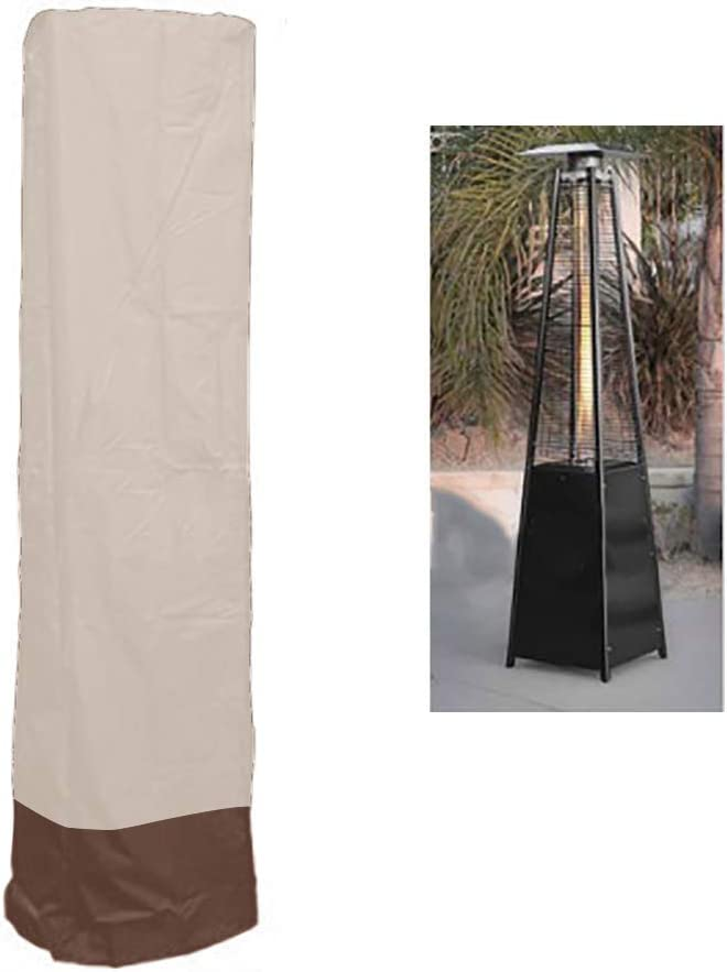 Heavy Duty Universal Waterproof Outdoor Garden Stand Up Patio Heater Covers