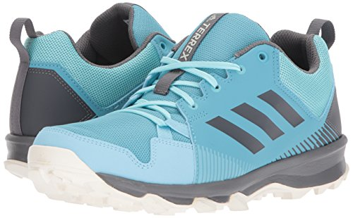adidas outdoor Women's Terrex Tracerocker W Trail Running Shoe Vapour Grey Four/Icey Blue, 5 M US by adidas outdoor (Image #6)
