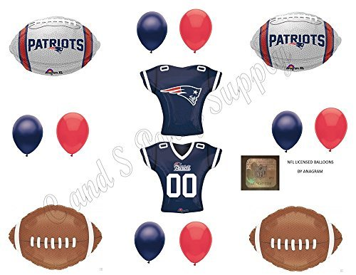 ANAGRAM PATRIOTS 13 PIECES! Birthday Party Balloons Decoration Supplies -