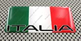 3d detail supplies - Italy (Italia) Flag 3d Domed Decal Sticker