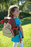 Skip Hop Zoo Toddler Kids Insulated Backpack Marshall Monkey Boy, 12-inches, Brown