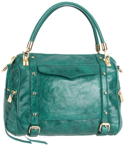 Rebecca Minkoff Cupid Shoulder Bag,Teal,One Size, Bags Central