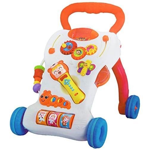 Andador para bebés con micrófono y juegos