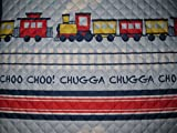 Cozee Quilts Train Set Quilt and Sham Twin Set