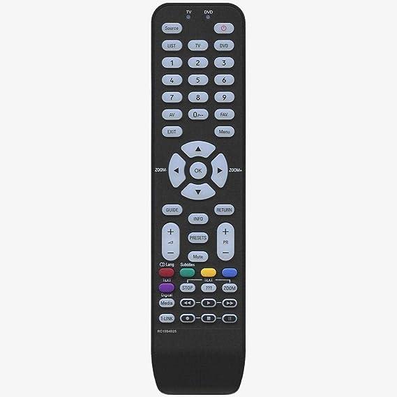 Mando a Distancia Compatible con Thomson RC1994925, 04TCLTEL0203, RC1994939, RC1994946, 19HR3022, 19HR3234, 19HR5434, 22HR5234, 26HE8022, 26HR3022, 32HR3022, 32FR5234, 42FE9234B, 40FF9234B: Amazon.es: Electrónica