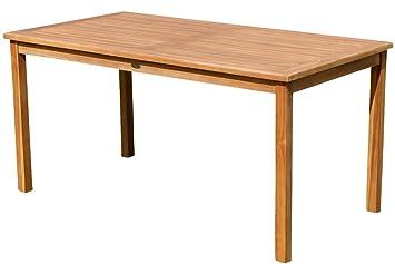 Gartentische  Amazon.de: ECHT TEAK Gartentische Holztisch Tisch in verschiedenen ...