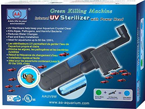 aa aquarium green killing machine uv sterilizer replacement