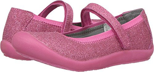 Hanna Andersson Girls' Ania Casual Mary Jane Flat, Cottage Pink, 10 M US Toddler -