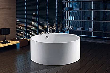Vasca Da Bagno Freestanding Rotonda : Vasca da bagno freestanding rotonda circolare idra diametro