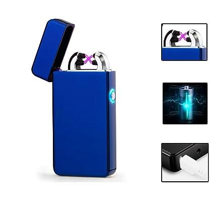 Vela Mechero, USB lighter-electronic Arc encendedor, Sin Llama, encendedor de Batería