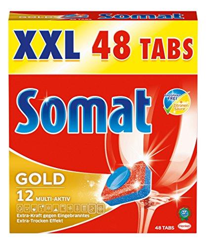 Somat Tabs 12 Gold XXL, 1er Pack (1 x 48 Stück)
