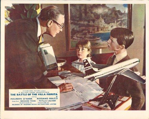 battle-of-the-villa-fioritra-richard-wattis-and-children-lobby-card
