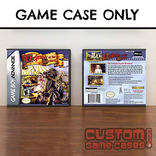 Gameboy Advance Defender Of The Crown - Case (Defender Of The Crown Game Boy Advance)