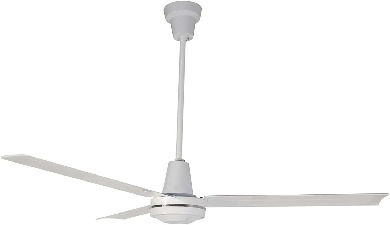 Leading Edge 56001 Heavy Duty High Performance Ceiling Fan, 27500 CFM, White