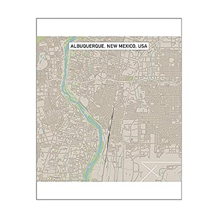 Amazon.com: Media Storehouse 20x16 Print of Albuquerque New Mexico ...