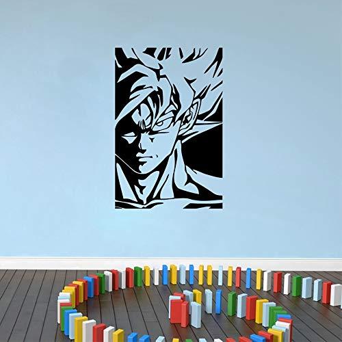 Vinilo Decorativo Super Saiyan Goku Vinilo Tatuajes de Pared ...