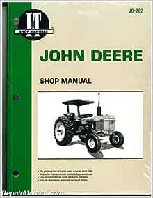 JD-202 John Deere Tractor Manual 2040 2510 2520 2240 2440 2630 2640 4040  4240 4440 4640 4840: by Publisher: Amazon.com: BooksAmazon.com