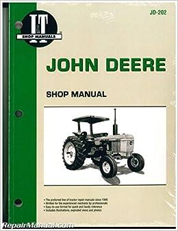 jd-202 john deere tractor manual 2040 2510 2520 2240 2440 2630 2640 4040  4240 4440 4640 4840: manufacturer: amazon com: books