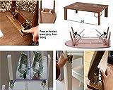 FidgetFidget Hinges Bracket Folding Table Leg Hinges Bronze 2PCS