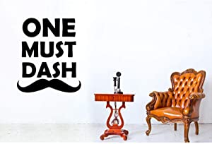 wwttoo One Must Dash Wall Sticker 57X66Cm