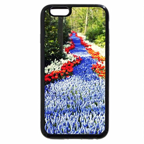 iPhone 6S / iPhone 6 Case (Black) path of blue