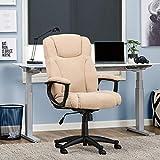 Serta Style Hannah II Office Chair, Woven Fabric, Beige