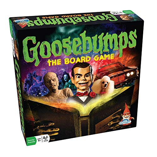 Goosebumps Movie Game - Thrilling Family Board Game - Battle Each Other In A Frantic Race To The Typewriter/End (Ages -
