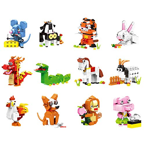 NBD Corp Exclusive Ideabox Chinese Zodiac Consist of 12 Animals for Ages 6 Yrs+. ()
