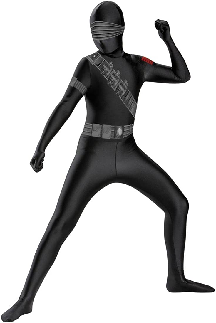 Snake Eyes Deluxe Bodysuit Costume