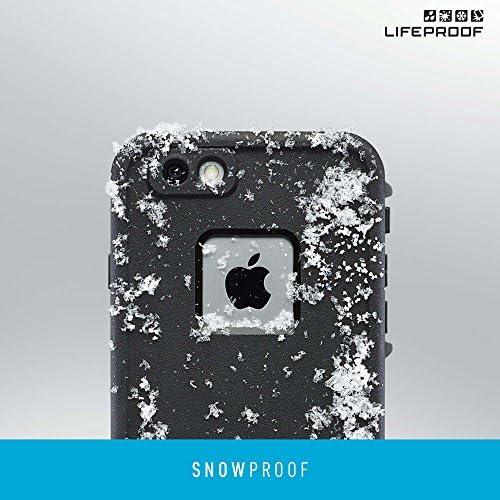 Lifeproof FRĒ SERIES iPhone 6/6s Waterproof Case - Retail Packaging - BLACK