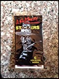 #4: Lot of(5) Unopened 1984 Nightmare on Elm Street Sticker Pack retro 80s trading cards non-sport