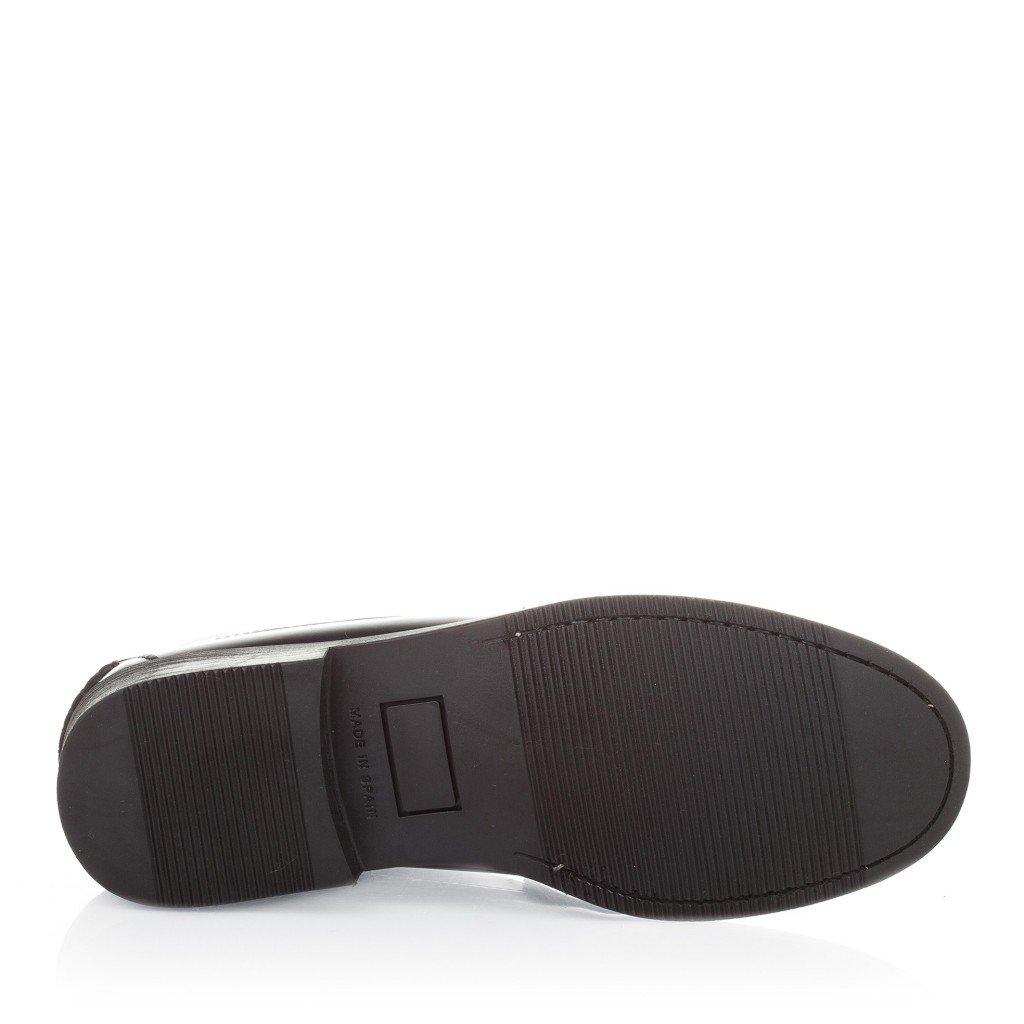 Castellanisimos Mocasines Hombre Piel Suela Goma Negro - Color - NEGRO, Tallas - 45: Amazon.es: Zapatos y complementos