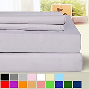blc bed sheet set hypoallergenic microfiber 3. Black Bedroom Furniture Sets. Home Design Ideas