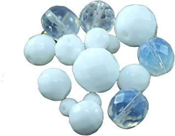 """4X6mm 1000pcs opale blanc Moonstone Faceted Crystal Loose Beads 15/"""""""