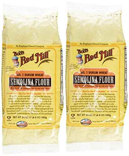 Bob's Red Mill Semolina Pasta Flour - 24 oz - 2 Pack ()