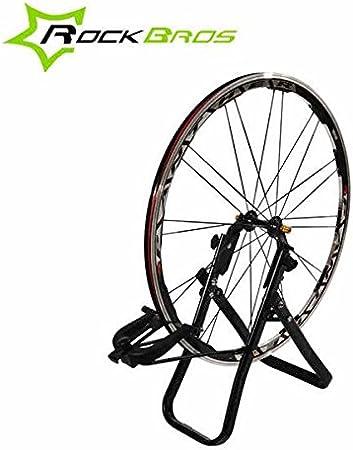Moppi Ruedas de Soporte rockbros Bicicleta Rueda de centrado Herramienta llanta Marco correctiva: Amazon.es: Deportes y aire libre