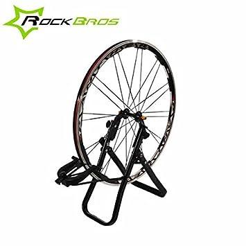 Moppi Ruedas de soporte rockbros bicicleta rueda de centrado herramienta llanta marco correctiva