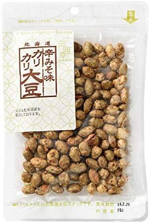 三海幸 辛味噌味カリカリ大豆 75g