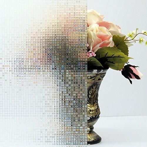 Bloss Sliding Glass Door Window Film Non Adhesive Window