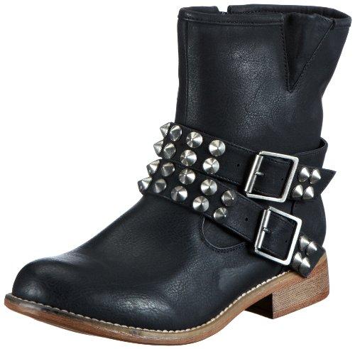 Rieker 95661-00, Women's Boots Black - Schwarz (Schwarz / 00)