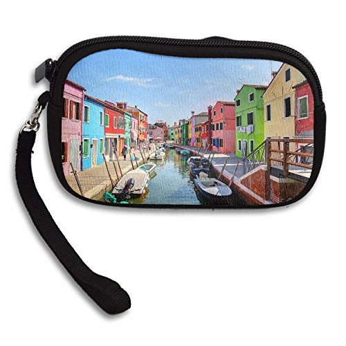 Receiving Bag Purse Portable Burano Deluxe Canal Small Printing Island xwnv8qvR0