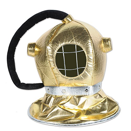 Beistle 59964 Fabric Diver Helmet, One Size Fits Most ()
