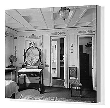 Amazon.com: Media Storehouse 20x16 Canvas Print of Bedroom ...