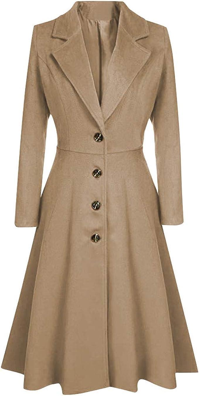 Amazon.com: Goodxing Women Long Sleeve V Neck Lapel Button Long