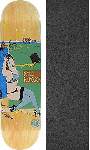 のみ砂のチームscumco & Sons Kyle Nicholson Perfect Pourスケートボードデッキ – 8