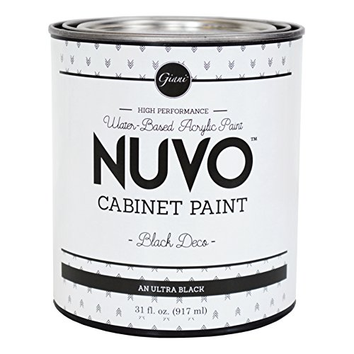 Nuvo Cabinet Paint (Black Deco) Quart