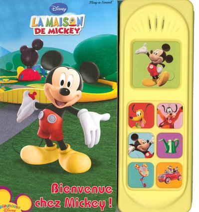 Amazon Fr Bienvenue Chez Mickey Play A Sound Valerie