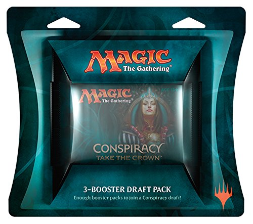 Magic The Gathering Draft (Magic The Gathering MTG - Conspiracy Take The Crown 3-Booster Draft Pack)
