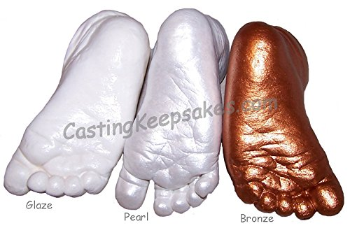 Luna Bean Deluxe 3D Prints Baby Casting Kit (Pearl) by Luna Bean (Image #3)